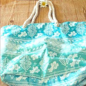 Handbags - 🌸Hawaiian tropics beach tote bag🌺